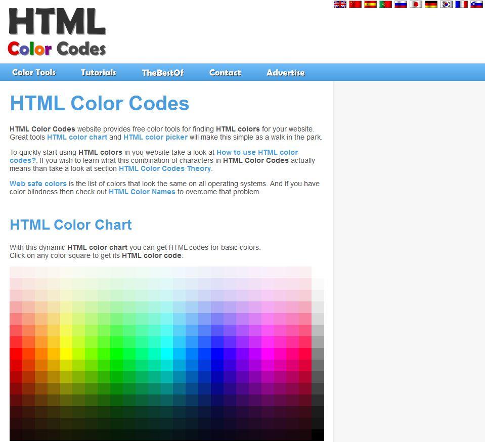 Des outils pour vos palettes de couleurs html b web - Palette de couleur html ...