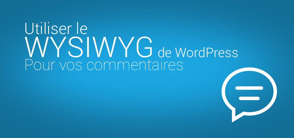 wysiwyg-wordpress-comment-bweb
