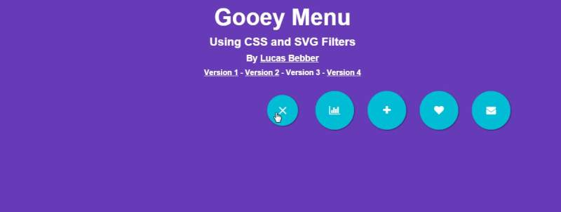 Gooey Menu b-web